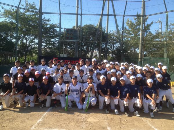 元アスリート野球教室&セミナー写真2